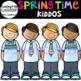 Springtime Kiddos Clip Art {Kids Clip Art}