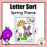 Springtime Letter Sort - S