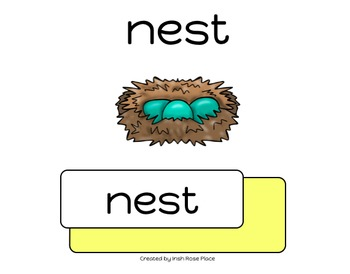 Spring Leveled Word Books (Adapted Books)