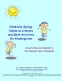 Springtime Literacy and Math Activities for Kindergarten