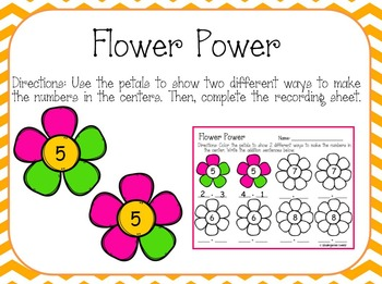 Spring Literacy and Math Centers (Bundled)