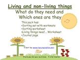 Springtime Living or non-Living Study