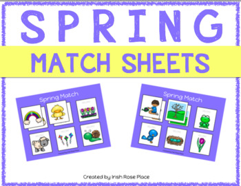 Spring Match Sheets