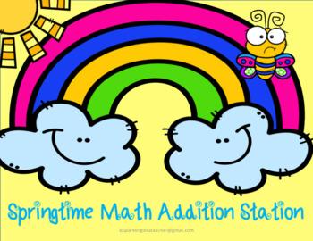 Springtime Math  Addition Station