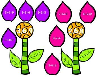 Springtime Math Stations