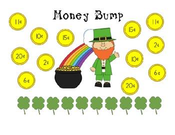 Springtime Money Game Pack - Pennies, Nickels, Dimes