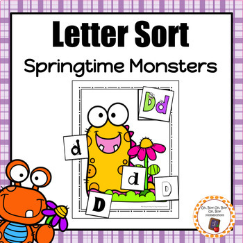 Springtime Monsters Letter Sort - S