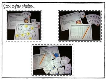 Springtime Multiplication Math Stations
