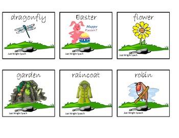 Springtime Multisyllabic Words