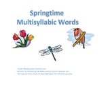 Springtime Multisyllabic Words