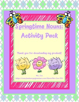 Springtime Noun Activity Bundle *FREEBIE*