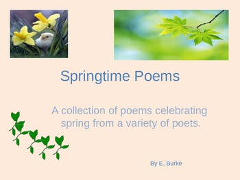 Springtime Poems On Power Point
