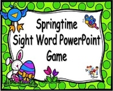 Springtime PowerPoint Game {Editable Template}
