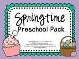 Springtime Preschool Packet for Speech and Language Therapy