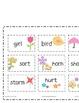 Springtime R-Controlled Vowels Word Sort