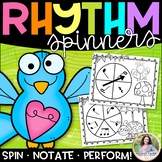 Springtime Rhythm Spinners {Color and Ink-Friendly}
