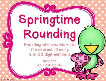 Rounding to the Nearest 10 {Springtime}