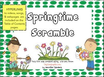 Springtime Sentence Scramble