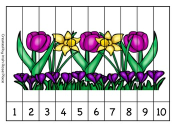 Spring Sequence Puzzles