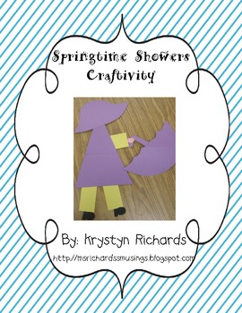 Springtime Showers Craftivity