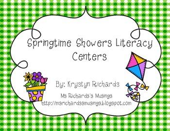 Springtime Showers Literacy Centers