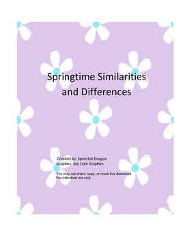 Springtime Similarities and Differences