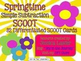 Springtime Simple Subtraction SCOOT