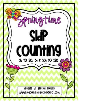 Springtime Skip Counting