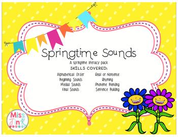 Springtime Sounds: Literacy and Phonics