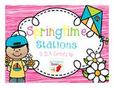 Springtime Stations: 5 ELA Centers For 1st Grade