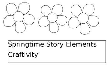 Springtime Story Elements Craftivity