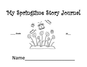 Springtime Story Journal