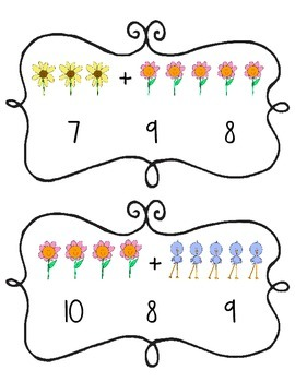 Springtime Sums Math Center