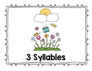 Springtime Syllable Sort