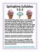 Springtime Syllables 1--2-3 Multi-Syllable Nonsense Word FREEBIE