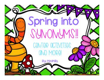 Springtime Synonyms!