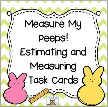 Springtime Task Cards For Estimating and Measuring Length