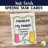 Task Cards: Springtime | Estimating and Measuring Length C