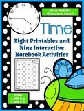 Spring Telling Time Printables and Interactive Notebook Ac