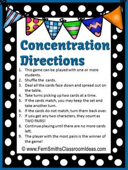 Telling Time to the Five Minute Old Maid, Concentration and Go Fish Center Games