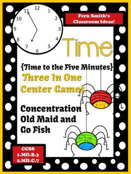 Telling Time to the Five Minute Old Maid, Concentration an