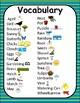 Springtime Spot It/Dobble/Vocabulary Game