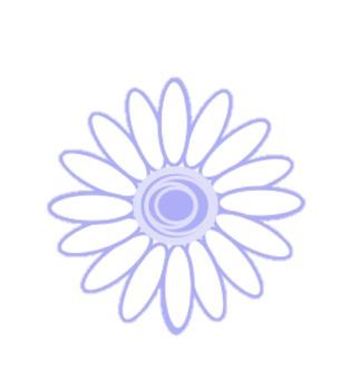 Springtime White Daisies - Clipart