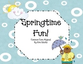 Springtime adding and subtracting! (common core aligned)