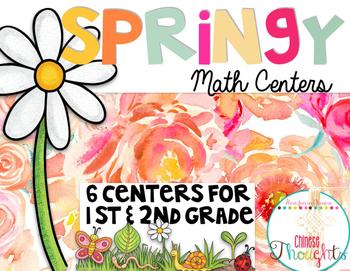 Springy Math Centers