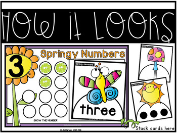 Springy Numbers {A Working With Numbers Center}