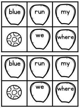 Springy Sight Words Freebie