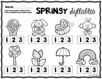 Spring Syllables Center
