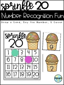 Sprinkle 20 - Number Match Freebie