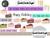 Sprinkle Cute like Confetti Cake Birthday Months Cake Bulletin Board